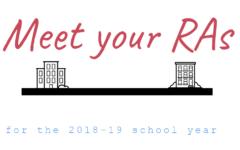 SCCC 2018-19 Resident Assistants chosen