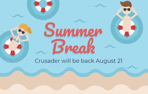 Crusader takes break for the summer