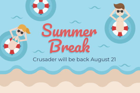 Crusader takes break for the summer