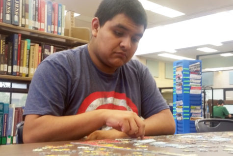 Vasquez is a drafting and design major from Liberal, Kansas. If he could be any superhero, he would be Captain America.