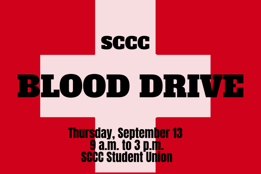 SCCC+will+be+hosting+another+blood+drive+on+Thursday%2C+September+13+to+help+with+the+emergency+need+of+blood+donations.