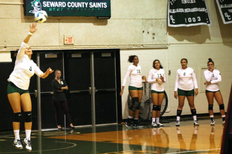 Lady Saints lose three