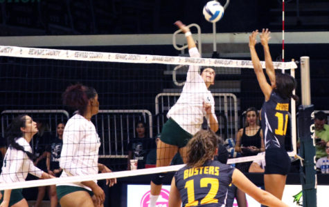 Lady Saints win fourth straight match