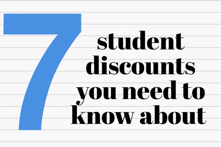 Top 7 student discounts