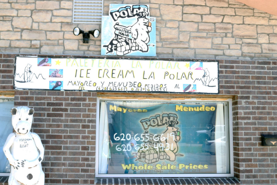 The famous Ice Cream La Polar goes along with Amberley Taylor and Alondra Trevizo's story about La Paletero.