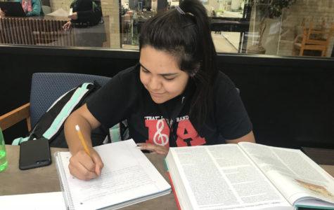 Ana Calderon, freshman Nursing