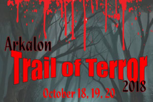 The Trail of Terror took place on the weekend of Oct. 18, 19, 20 at Arkalon Park.