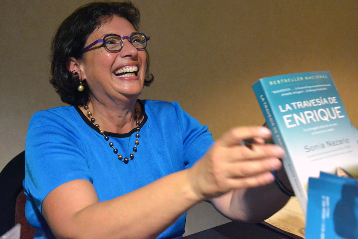 "Sonia Nazario is well known for her book ""Enrique's Journey."