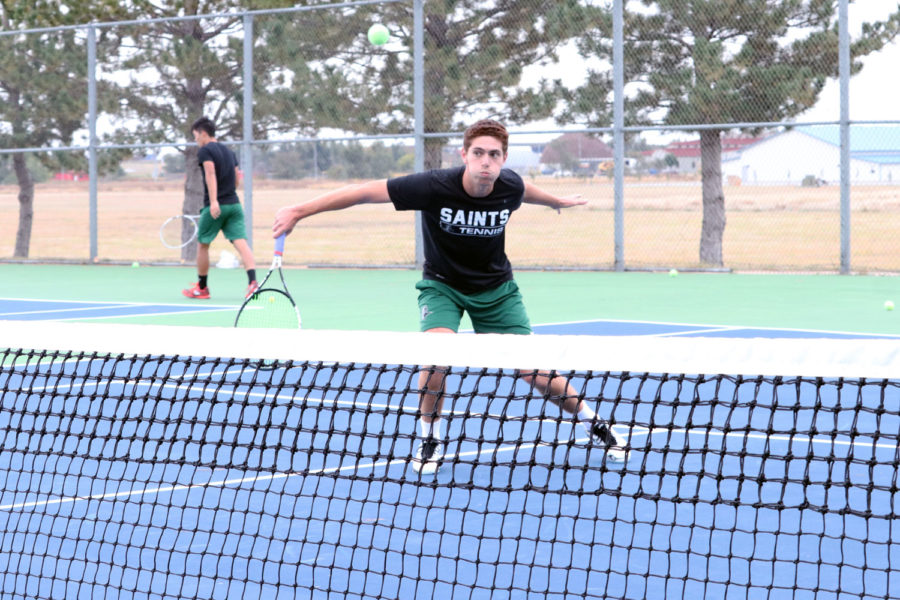 Sophomore Nicolas Rousset is competing in the ITA Oracle Fall Champions in Surprise, Arizona from Nov. 7-11.