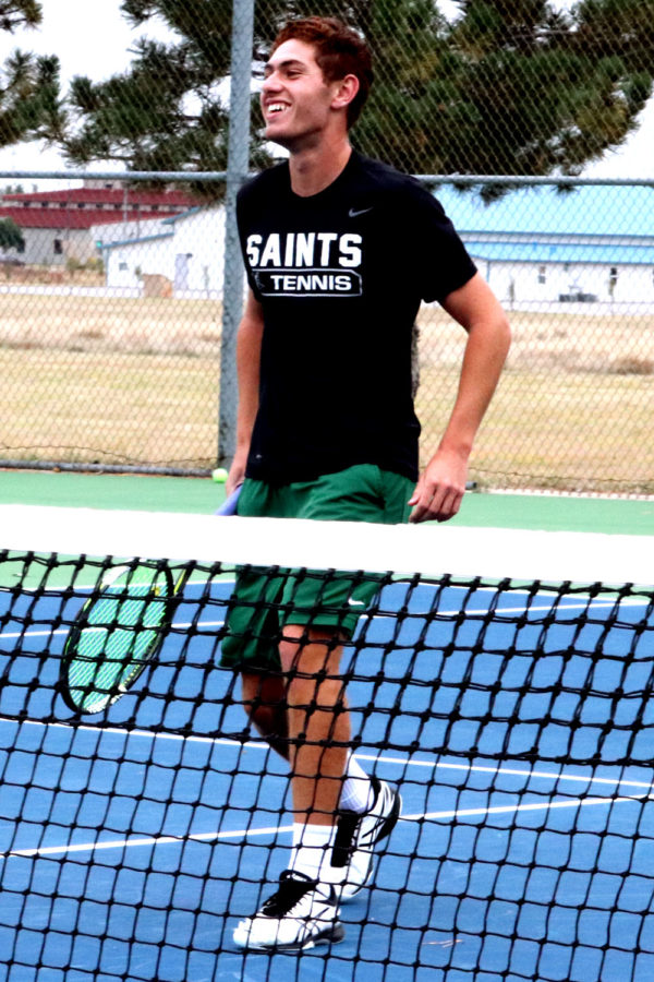 Rousset is the only tennis player from a junior college that is competing in the ITA Fall Championships.