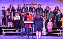 Band, Choir perform at Christmas concert