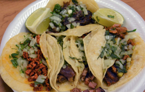 Most tacos have onion and cilantro to top it off. This plate of tacos was $6.25 along with six salsas and two limes. For the tortillas, instead of putting butter they put lard to make the tortillas softer and lard gives the tortilla a pork taste.