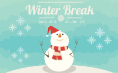 It's Winter Break … See you Jan. 14