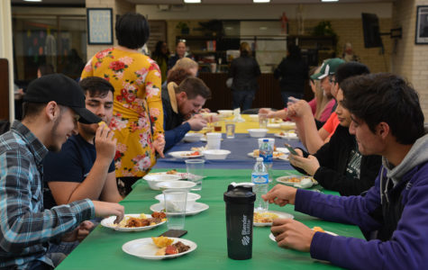 Students taste the world at Kansas day celebration