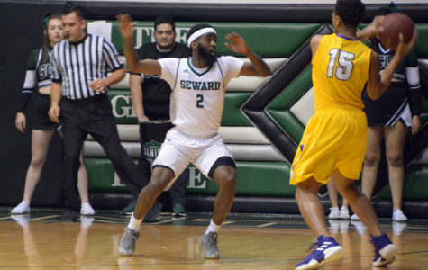 The Seward Saints mens basketball team are ranked No. 13 in the nation with a 16-4 overall record but 9-2 in the jayhawk conference. (file photo)