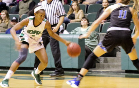 Lady Saints beat Barton in overtime win