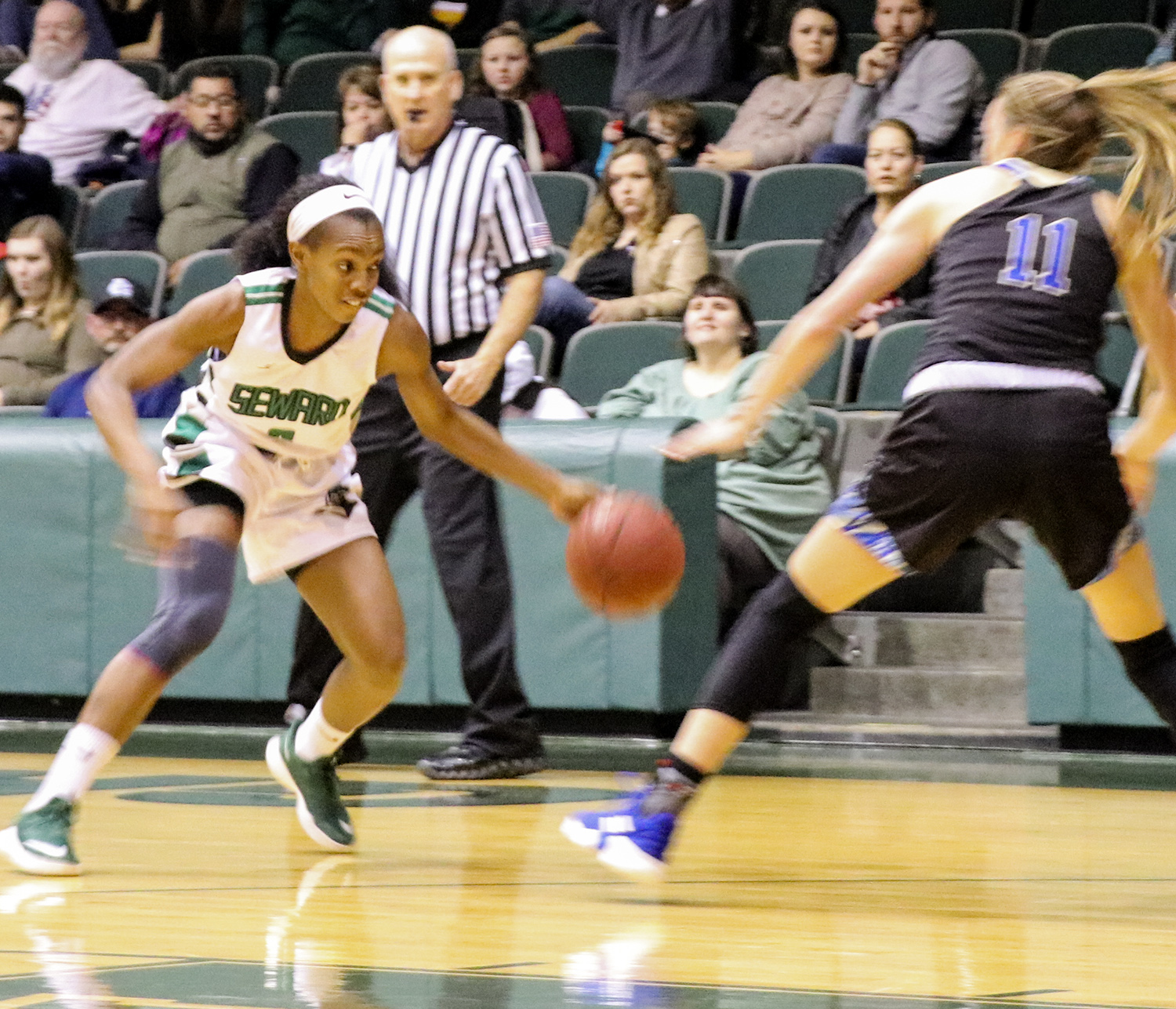 The No. 11 Lady Saints played against Barton County Community College on Jan. 26. They now sit at 19-2 overall and 11-1 in the KJCCC.