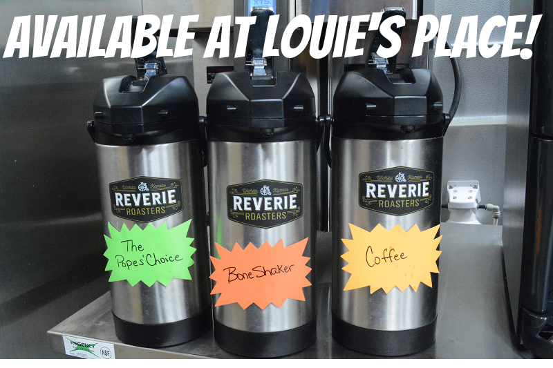 Reverie+Roasters+has+come+to+Louie%27s+place.+Three+of+their+signature+flavors+are+available.