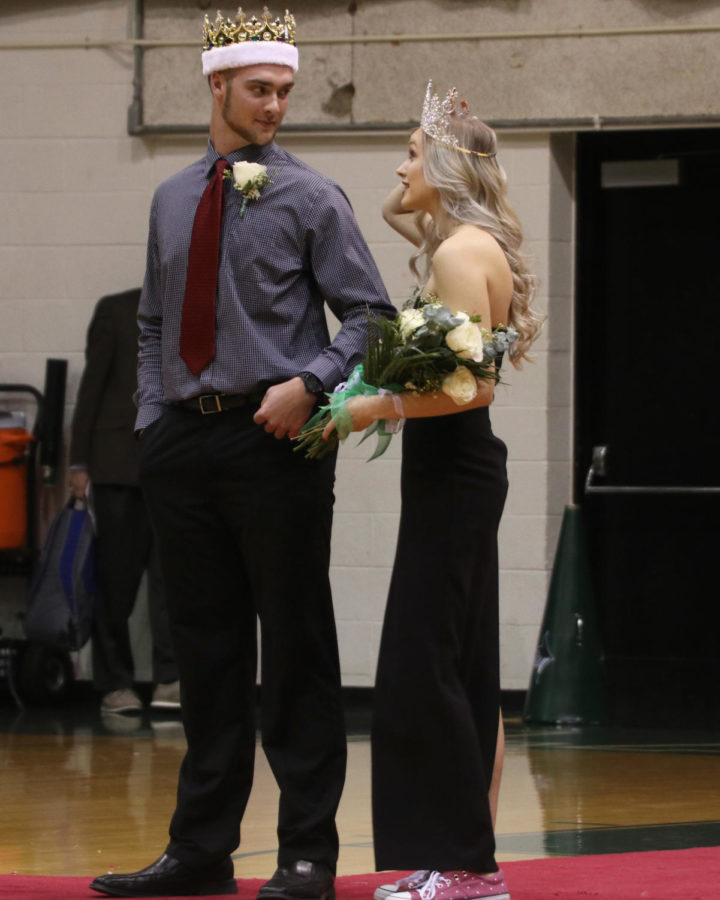 Spring+King+and+Queen+of+Seward+County+Community+College+is+Cole+Evans+and+Queen+is+Kaitlyn+Van+Vleet.