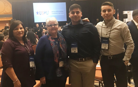 HALO attended the United States Hispanic American leadership conference. Sponsors, Frances Brown, Patsy Fischer, and two HALO members Miguel Perez, Bryan Erives attended.