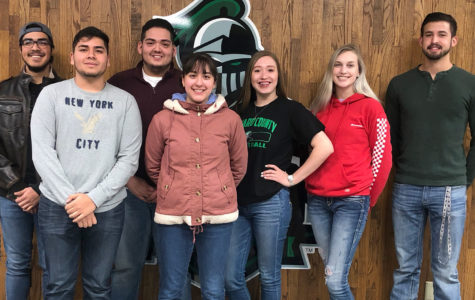 The SCCC 2019 homecoming king and queen candidates are Moises Alvarez, Miguel Perez, Brian Martinez, Ana Herrera, Alba Torres, Kaitlyn Van Vleet, Rodrigo Sanches. Not pictured: Cole Evans, Veronica Paul and Esmadar Tavares.