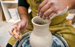 Photo Essay: Hernandez shares passion for ceramics