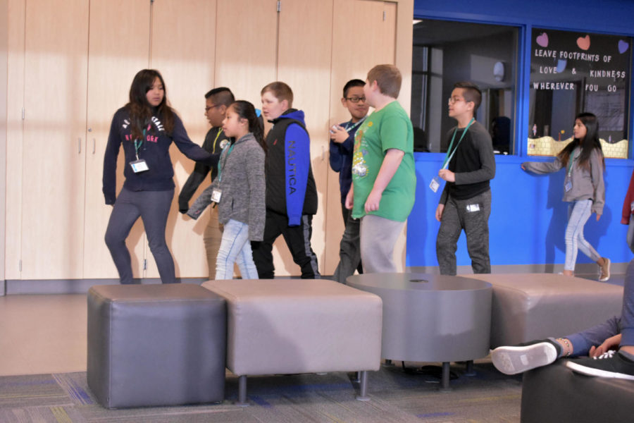 On Feb. 27 students from SCCC volunteered to read at Meadowlark Elementary. One of the books that were read was Mcelligot's Pool which tells the story of a man who went fishing.