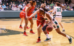 Lady Saints slay the Dragons, earn conference title
