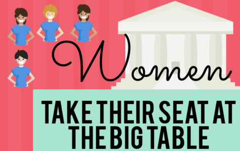 Women take seat at the big table