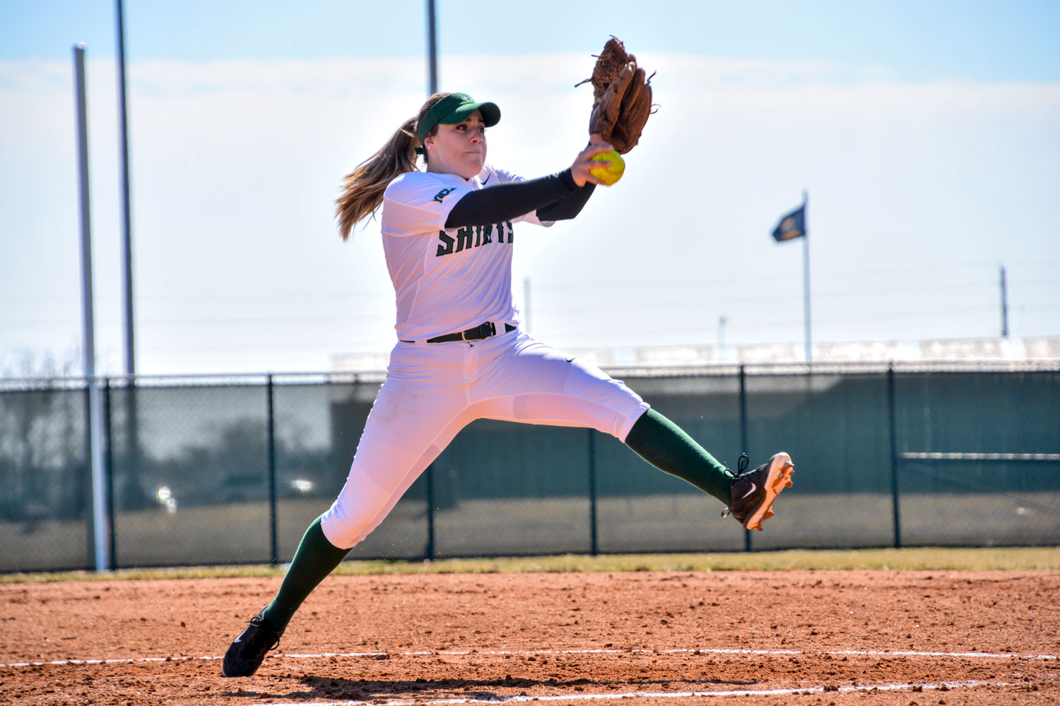 The Seward County Community College softball team played two matches against Pratt Community College on March 1, winning both. The Lady Saints are currently 2-9 overall but 2-0 in conference play.