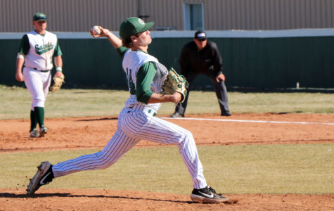 The Seward Saints played against Clarendon Community College on March 5, taking a 14-10 loss. The Saints are now 7-7  overall.