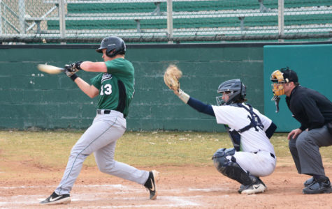 Baseball Saints played against Colby at 2 p.m. last Friday. Saints lost the first game but came back up to win the second game against Colby.