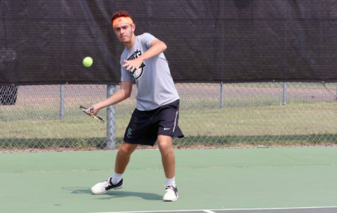 "Saints tennis ""rack up"" wins during spring break"