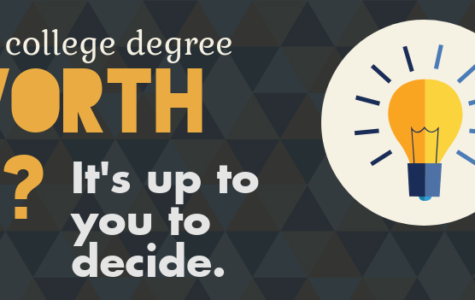 Earning a college degree is more than just studying and passing classes. It's about time and effort, but only you can decide your future career path. (Photo illustration)