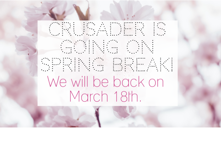 SCCC takes spring break this week