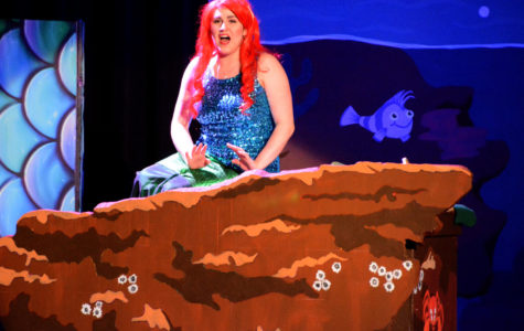 "SCCC brought the musical adaptation of ""The Little Mermaid"" to the showcase theatre on dates April 5, 6, and 7."