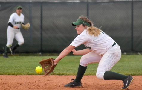 Lady Saints win a doubleheader to Independence