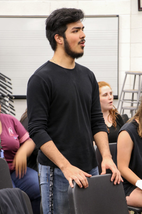 """Sophomore psychology major, Moises Alvarez, will be playing Prince Eric in """"The Little Mermaid."""" """"Fathoms Below"""" will be a song performed by the male cast members Alvarez, Adan Monarrez, and Jeffrey Hannold whom play Prince Eric, King Triton, Grimsby, and Chef Louis."""