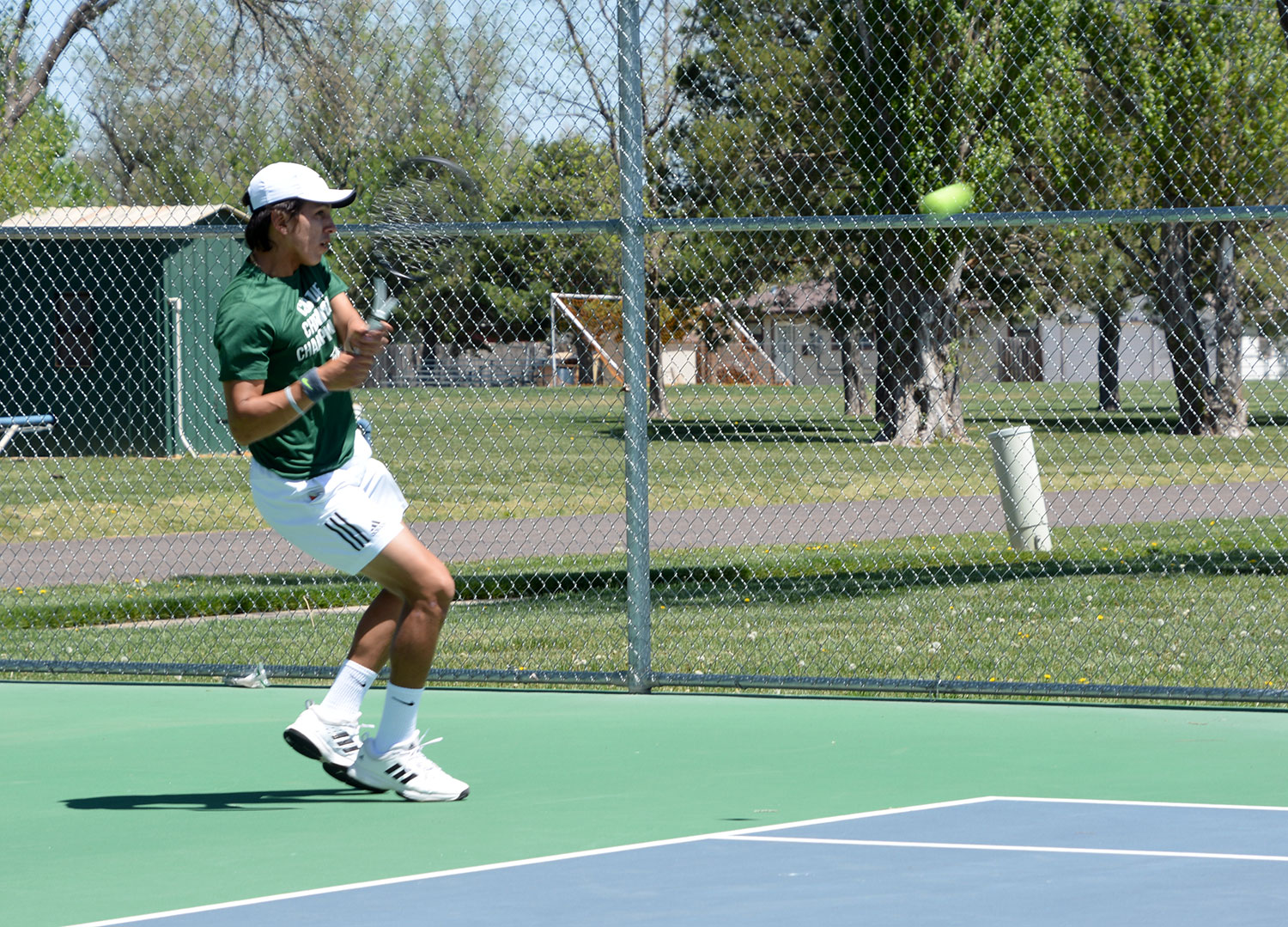 "Sophomore Carlo Izurieta from Guayaquil, Ecuador became interested in tennis between the age of nine and ten. Izurieta enjoys tennis because he likes winning. ""I like complicated games and win them. Losing isn't bad as long as you learn from it."" After Iqurieta finishes up at SCCC, he would like to attend a division one university such as University of Texas Rio Grande Valley, Middle Georgia State University or University of Wisconsin."
