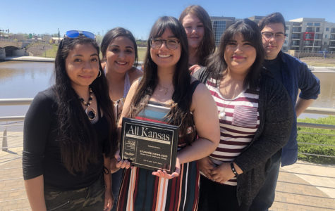 The Crusader staff won a total of 33 awards including the All-Kansas award for best website in the state. The last time Crusader won such award it was 2014.