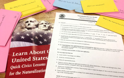 In order to become a U.S. Citizen, you must learn the answers to 100 questions. To pass the test, you have to get six questions correct in an oral exam.