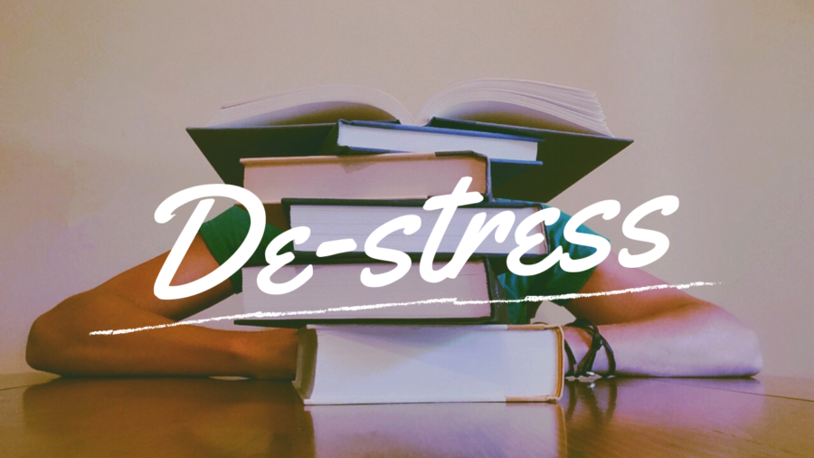 The end of the semester means papers, research and tests. Take a study break with Student Government Association's de-stress week.