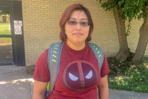 Jenifer Duarte, Liberal Freshman, plans on moving to California after graduation.