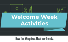 Welcome week filled with activities