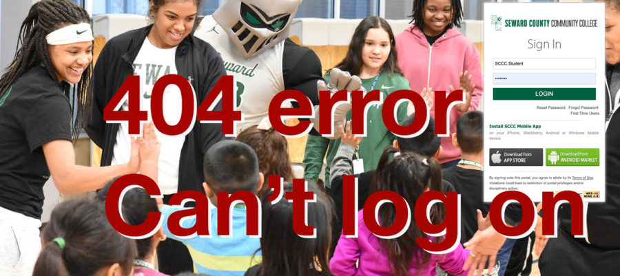 When the server goes out, most students receive a 404 error. This tells you that the page you are looking for is not available.