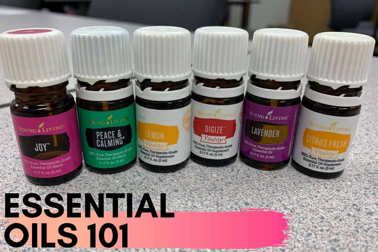 An essential oils class was held at the SCCC industrial tech on Sept. 24. Essential oils enthusiast, Debbie Scroggs, taught the class and brought her own samples for the students to try.