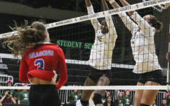 Photo Essay: Lady Saints defeat conference rival in four sets