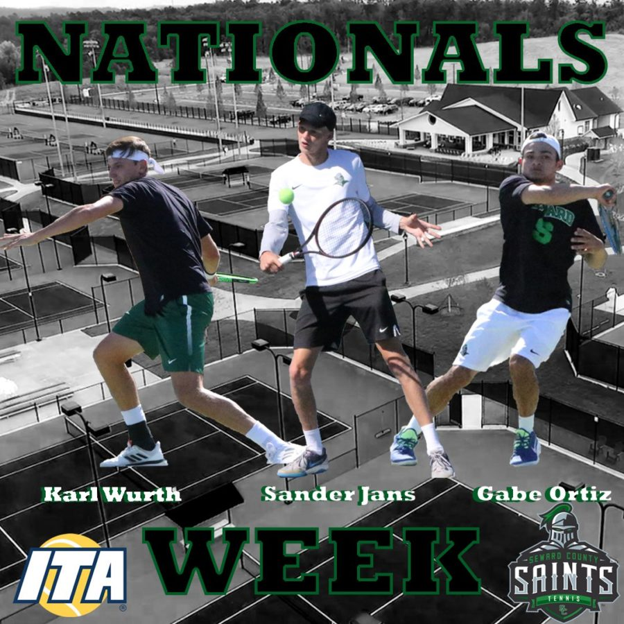 Men's tennis has historic finish at nationals
