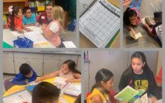 La escuala primaria de liberal anima el estudiante bilingüe por medio de su programa de lenguaje dual