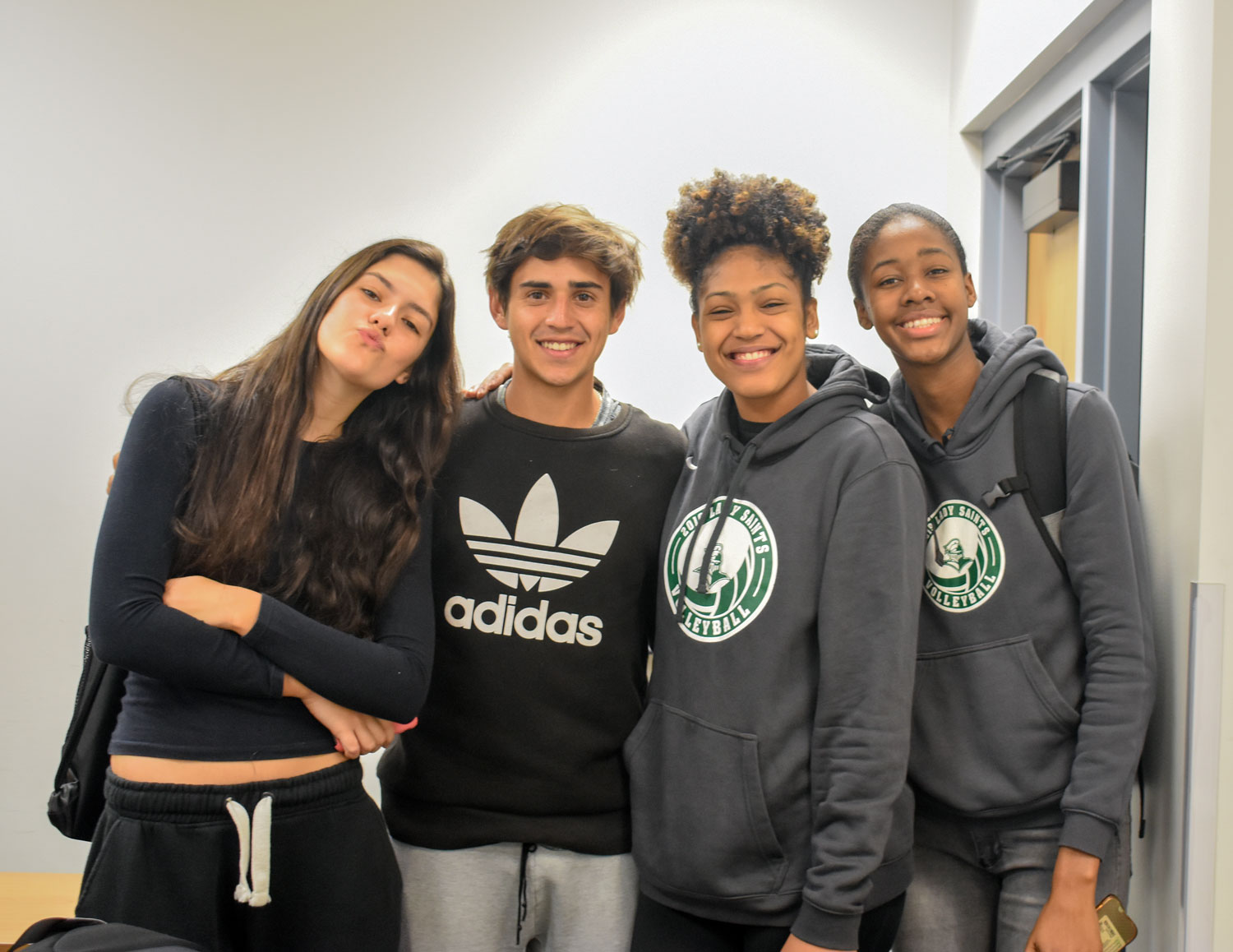 Most athletic teams at SCCC are made up of international students. The volleyball and tennis teams are made up of more than 80 percent students from other countries.  Livia De Pra, volleyball player from the Dominican Republic, Juan Gonzales, tennis player from Argentina, Yanlis Feliz, volleyball player from Dominican Republic, and Mesalina Severino, volleyball player from Dominican Republic, are all new to Liberal.